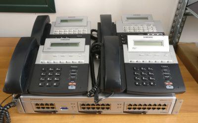 OFFERTA CENTRALINO SAMSUNG + TELEFONI